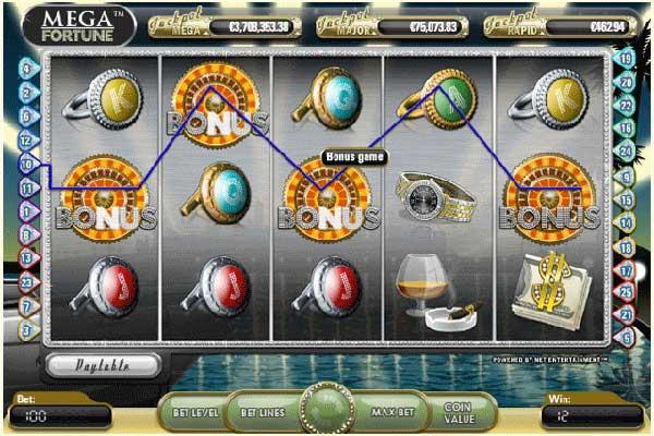mega fortune slot free